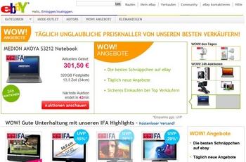 ebay wow bilanz artikel am tag 24 mio euro im jahr exciting commerce. Black Bedroom Furniture Sets. Home Design Ideas