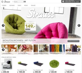 Auch Strauss Innovation Wagt Sich An Den Online Verkauf Exciting