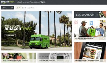 Amazon Fresh: Lebensmittel frei Haus für 299 Dollar/Jahr