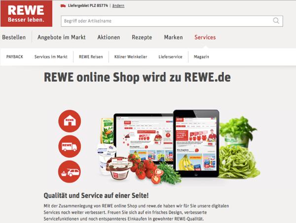 REWE Bilanz: Auch REWE will den Online-Weinhandel ...
