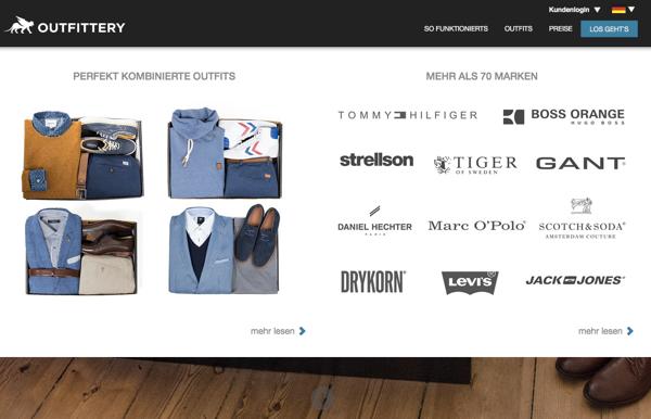 Kann Outfittery für Männer werden, was Zalando für Frauen