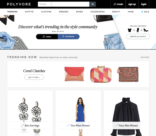 Polyvore social shopping pionier wird von yahoo geschluckt exciting commerce - Stylefruits mobel ...