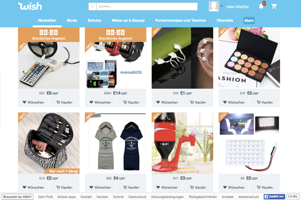 Wish: Was steckt hinter dem jüngsten E-Commerce-Hype?