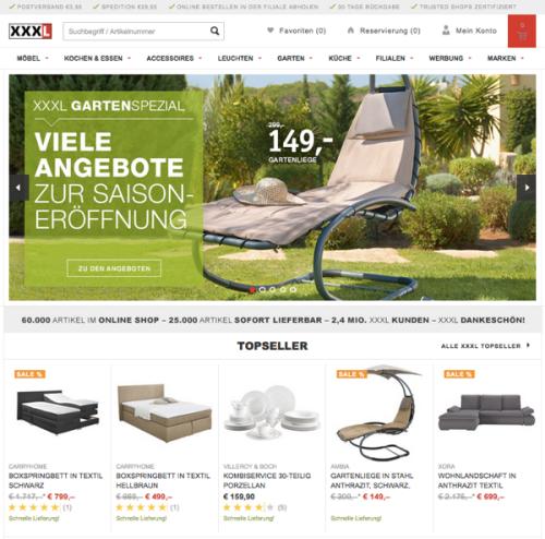 Wo Stehen Xxxlutz Und Ikea Im Online Handel 201516 Exciting Commerce
