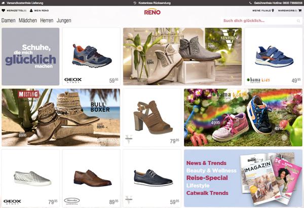 Auch Reno findet einen Retter vor dem Online-Handel
