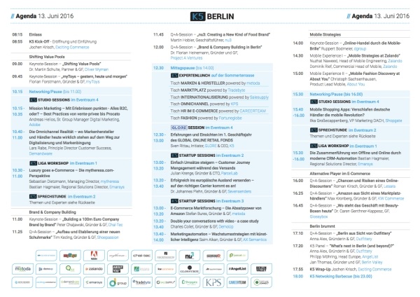 K5BerlinAgenda