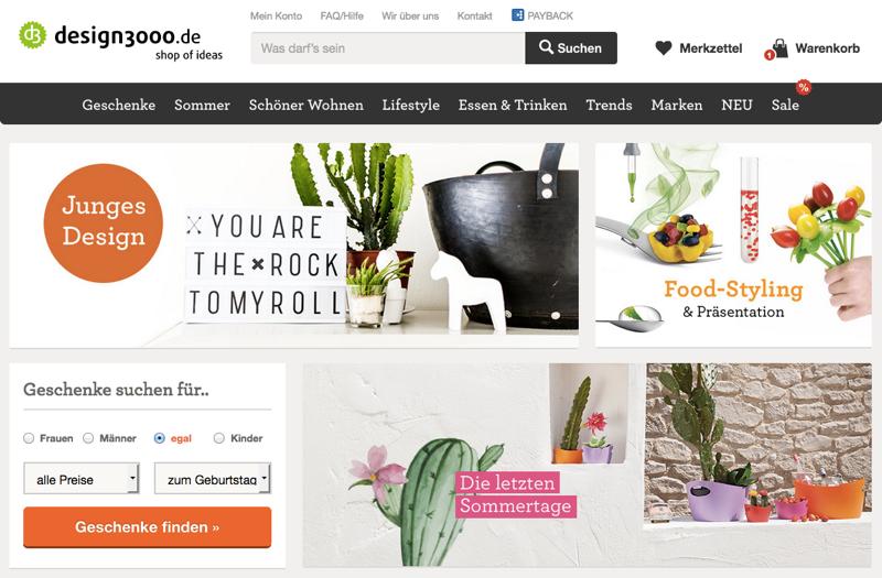 design3000 und schlie en sich zusammen exciting commerce. Black Bedroom Furniture Sets. Home Design Ideas