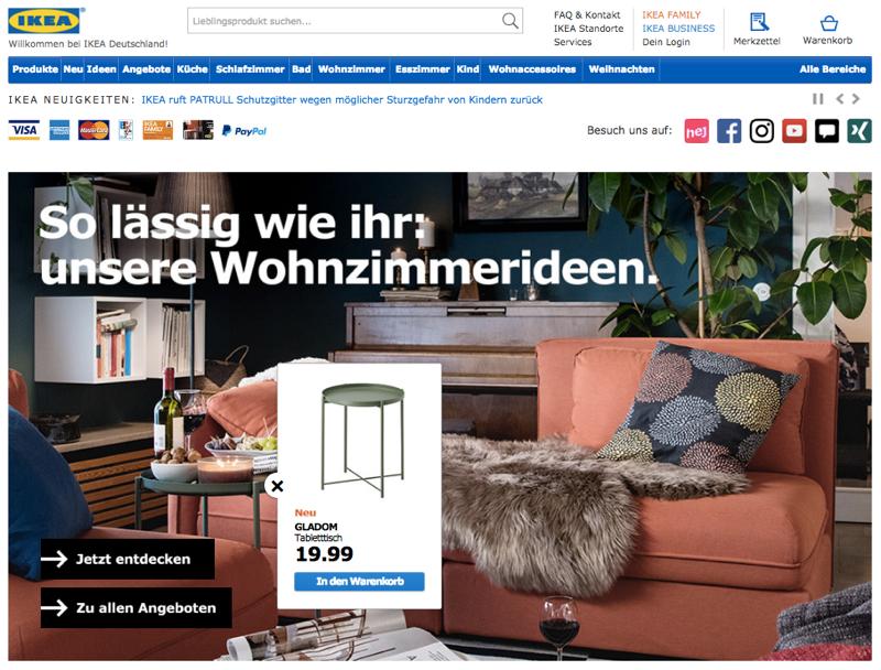 strafe muss sein wie ikea seine online kunden schikaniert exciting commerce. Black Bedroom Furniture Sets. Home Design Ideas