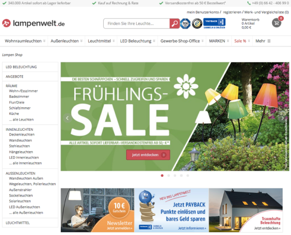 Lampenwelt holt 120 Mio. € von 3i, bei 61 Mio. € Umsatz | Exciting ...