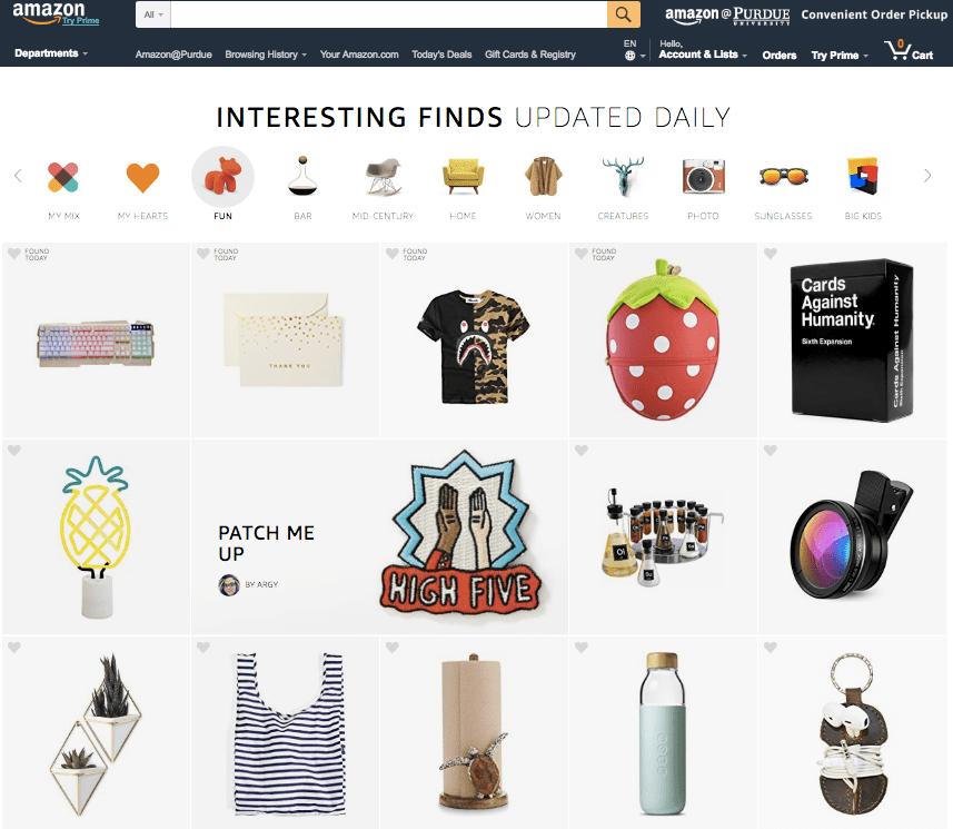 Amazon rüstet sich mit Shoppingwelten für morgen