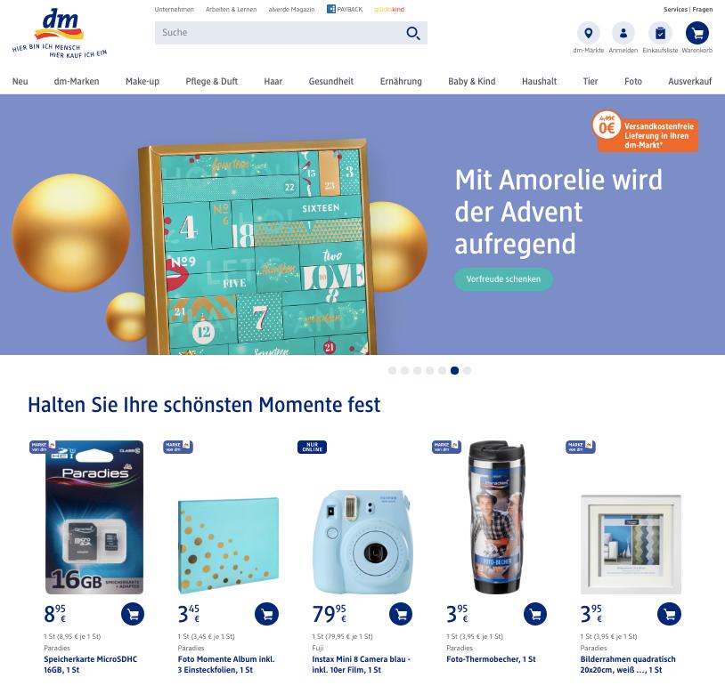 Rewe lidl dm und die zunehmende kapitulation vor amazon for Depot berlin filialen