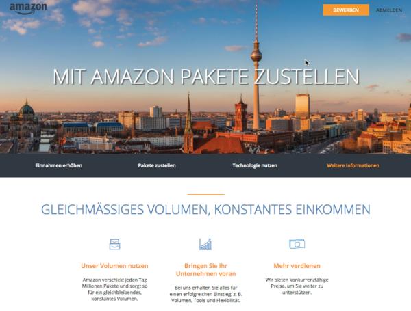so waren wir vor drei jahren die ersten die ber die entstehende amazon city logistik berichtet haben - Amazon Online Bewerbung