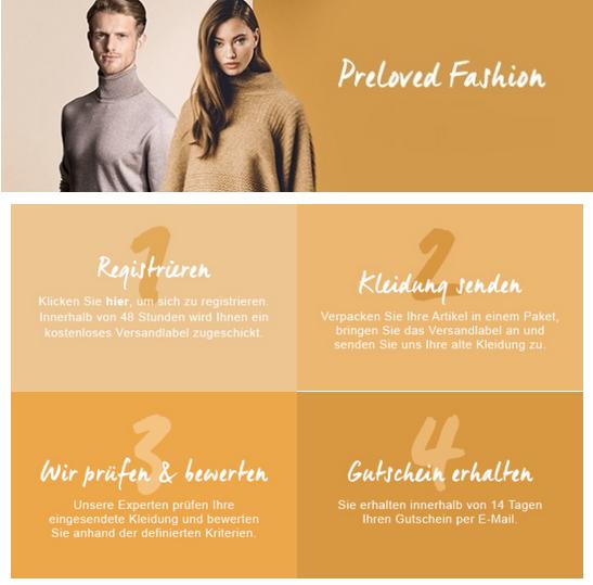 buy online 2f1ae 6eeb0 Preloved Fashion: Die Zalando Lounge kauft jetzt Second-Hand ...