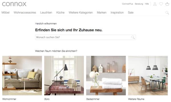 Schöner Wohnen und Einrichten: Connox auf Wachstumskurs – Exciting ...
