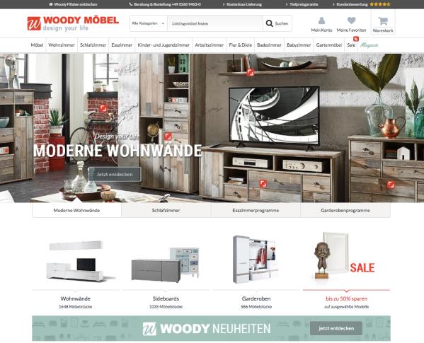 Woody Mobel Wachst Auf 15 Mio Click Licht Auf 10 Mio