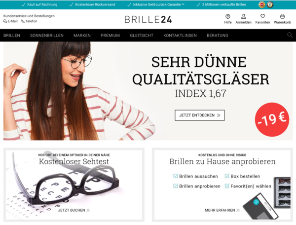 08fb918036 Nach MyOptique (Glassesdirect) und Vision Direct will sich Essilor jetzt  auch Brille24 und drei weitere Anbieter schnappen