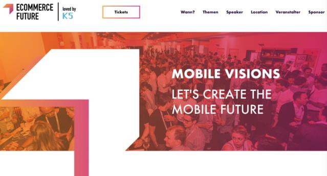 Jetzt anmelden zur K5 Mobile Visions am 31. Oktober in Köln